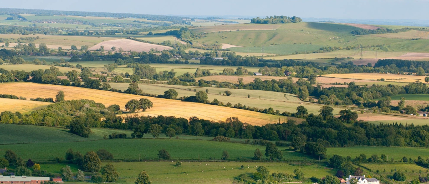 Walk in the beautiful countryside of the Pewsey Vale (1/6)